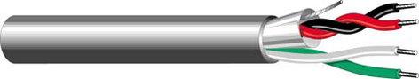 West Penn 25357B-1000  1000' 22/4C 1-Pr Unshielded Plenum Cable 25357B-1000