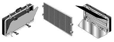 "Lowel Light Mfg CF-40 Caselite-4   2.6 amps, 23.8""x12.8""x3.9"" CF-40"