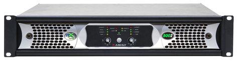Ashly nX8002 2 Channel 800W 2 Ohm Power Amplifier NX8002