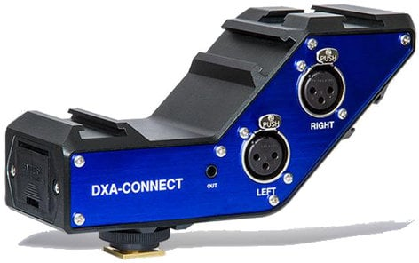 BeachTek DXA-CONNECT  Active XLR Adapter / Bracket Combo DXA-CONNECT
