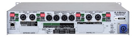 Ashly nXE8004 4 Channel 800W Network Power Amplifier NXE8004