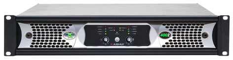 Ashly nXp4002 2 Channel 400W Network Power Amplifier with DSP NXP4002