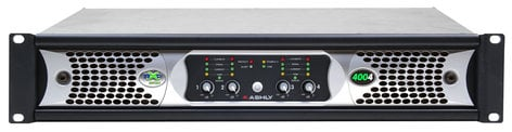 Ashly nXp4004 4 Channel 400W Network Power Amplifier with DSP NXP4004