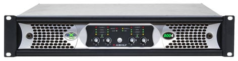 Ashly nXp8004 4 Channel 400W Network Power Amplifier with DSP NXP8004