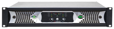 Ashly nXp8002 2 Channel 400W Network Power Amplifier with DSP NXP8002