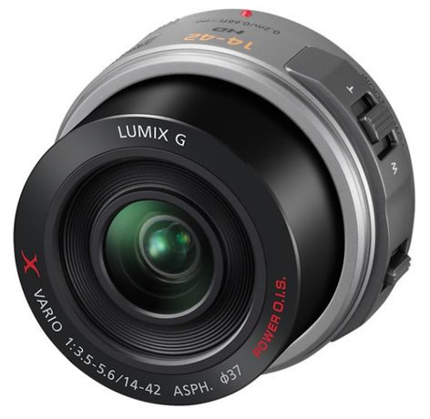 Panasonic H-PS14042S LUMIX G X VARIO PZ 14-42mm - F3.5-5.6 ASPH. - POWER O.I.S. in Sil HPS14042S