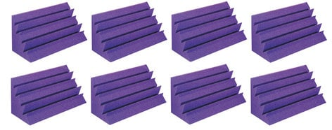Auralex LENPUR LENRD Bass Trap 8-pack in Purple LENPUR