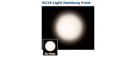 "Rosco Laboratories R119 20"" x 24"" Sheet of Roscolux Light Hamburg Frost Filter 119"