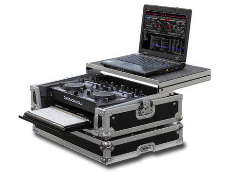 Odyssey FRGSDNMC36000GT  Case for the Denon DNMC6000 Includes Laptop Holder FRGSDNMC36000GT