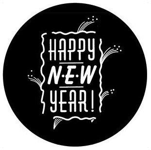 Rosco Laboratories 78391 New Year 3 Gobo 78391