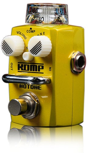 Hotone Nano Komp Skyline Series Optical Compressor Pedal SKYLINE-KOMP