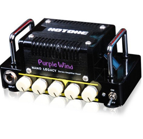 Hotone Nano Purple Wind 5W Nano Legacy Series Solid-State Guitar Amplifier Head PURPLE-WIND