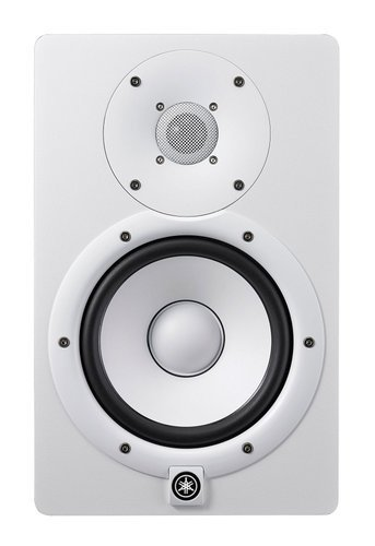 "Yamaha HS7W Powered 7"" Bi-amped Nearlfied Studio Monitor in White HS7W"