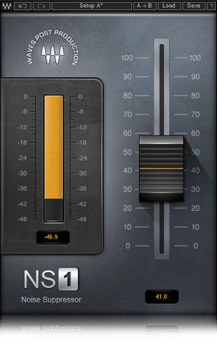 Waves NS1 Noise Suppressor Plugin NS1TDM