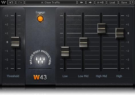 Waves W43 Noise Reduction Plugin W43TDM