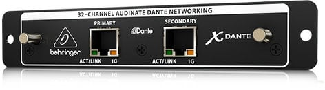 Behringer X-DANTE  32-Ch DANTE I/O Expansion Card for X32 X-DANTE