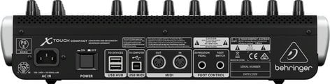 Behringer X-TOUCH COMPACT Universal USB/MIDI Controller with 9 Faders X-TOUCH-COMPACT