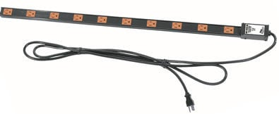 Middle Atlantic Products PDT-1220C-NS  12 Outlet 20A Nosurge Power Strip PDT-1220C-NS