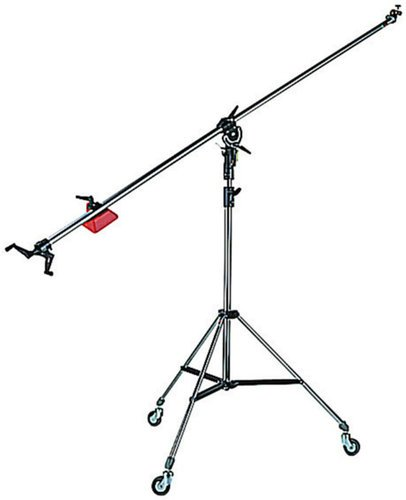 Manfrotto 025BS Light Stand with Boom Arm in Black 025BS