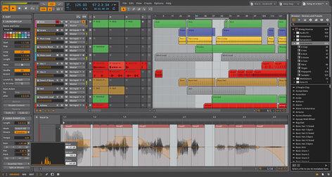 Bitwig BITWIG-STUDIO Studio Music Production Software BITWIG-STUDIO