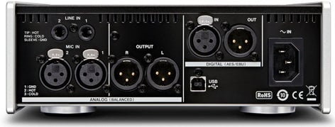 Tascam UH-7000 2 Channel USB Audio Interface and Microphone Preamp UH-7000