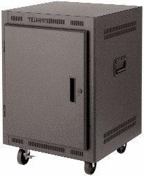 """Lowell LPR2427PGT 24RU 27"""" Deep Portable Rack LPR2427PGT"""