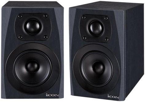 """iCON SX-4A 1 Pair of 4"""" Studio Monitors SX-4A"""