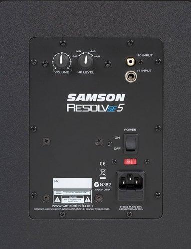 Samson Resolv SE5 2-Way Active Studio Reference Monitor RESOLV-SE5
