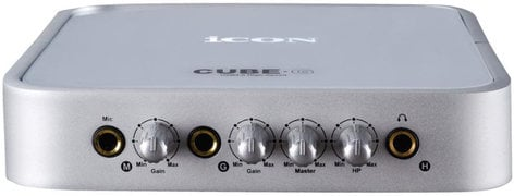 iCON Cube G USB Audio Interface with Guitar Input CUBE-G