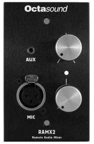 Octasound RAMX2 Dual Channel Remote Mixer RAMX2