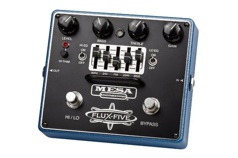 Mesa Boogie Ltd Flux Five Dual-Mode Overdrive+ Pedal with Assignable 5-Band EQ FLUX-FIVE