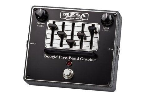 Mesa Boogie Ltd Graphic EQ 5-Band EQ Pedal BOOGIE-GRAPHIC-EQ
