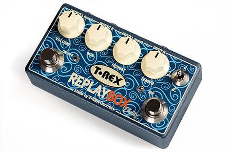 T-Rex Replay Box Stereo Delay Pedal REPLAY-BOX