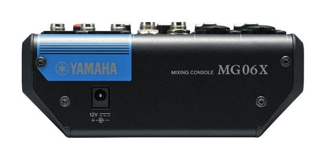 Yamaha MG06X 6 Channel Mixer with Effects MG06X
