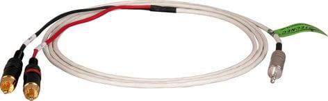 TecNec P/MPS-2P-100  100 ft Plenum 3.5 TRS Plug to Dual RCA Audio Cable P/MPS-2P-100