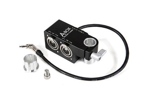 "Wooden Camera A-BOX-POCKET  XLR-M to 1/4-F"" Balanced Adapter for BlackMagic Pocker Cinema Camera A-BOX-POCKET"