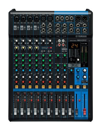 Yamaha MG12XU 12 Channel Mixer with Effects and USB MG12XU
