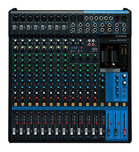 Yamaha MG16XU 16 Channel Mixer with Effects and USB MG16XU
