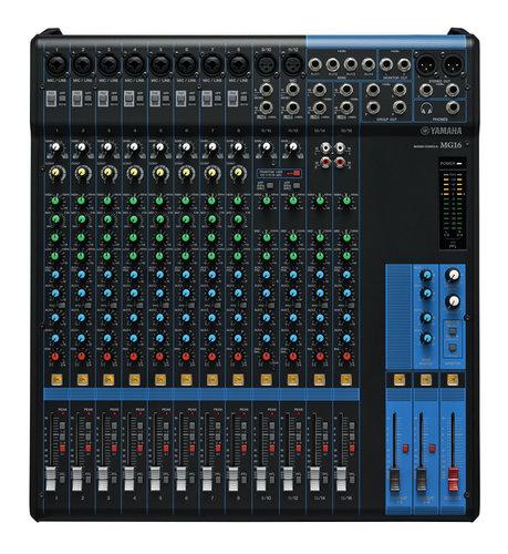 Yamaha MG16 16 Channel Analog Mixer MG16