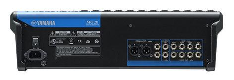 Yamaha MG20 20 Channel Analog Mixer MG20