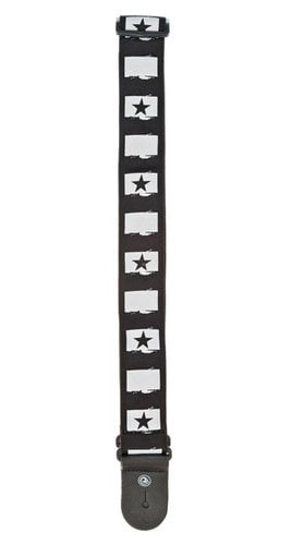 Planet Waves 50C01 West Coast Collection Rock Star Guitar Strap 50C01
