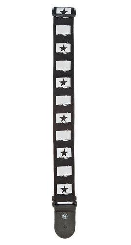 Planet Waves 50C01 West Coast Collection Rock Star Guitar Strap 50C01