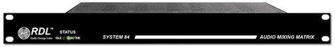 RDL SYS84B-RST-01 SYS84B [RESTOCK ITEM] System 84 B 8x4 Mono Audio Mixing Matrix SYS84B-RST-01