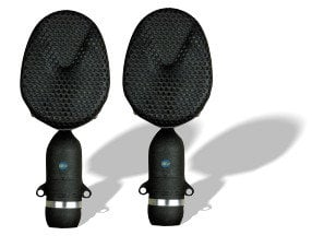 Coles 4038 Stereo Kit Matched Stereo Pair of Bidirectional Microphones with Stand Adapters and Case 4038-STEREO-KIT