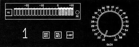John Hardy Company 990 2CH 2-Ch Jensen Twin Servo Microphone Preamp with 22-Position Switch 990-2CH-SPECIAL