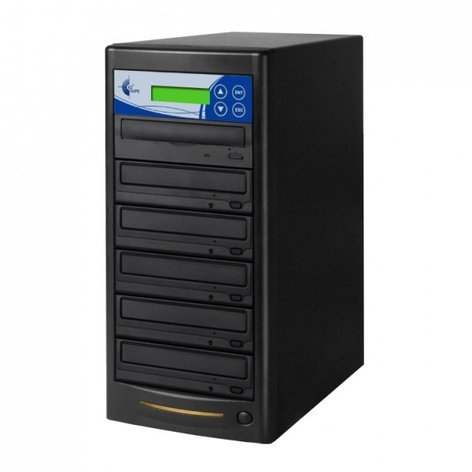 EZ Dupe GP05TDVDB Gold Premier Professional 5 Copy DVD/CD Duplicator GP05TDVDB