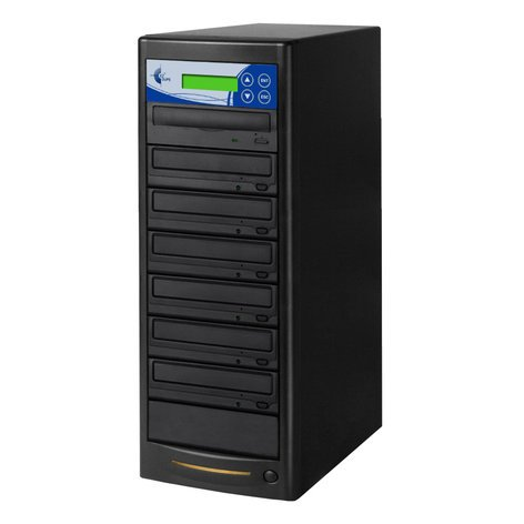 EZ Dupe GP06TDVDB Gold Premier Professional 6 Copy DVD/CD Duplicator GP06TDVDB