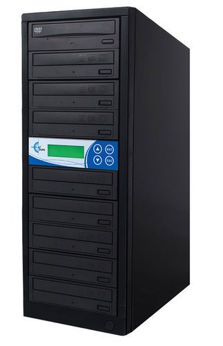 EZ Dupe GP08TDVDB Gold Premier 8 Copy DVD/CD Duplicator GP08TDVDB