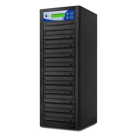 EZ Dupe GP10TDVDB Gold Premier Professional 10 Copy DVD/CD Duplicator GP10TDVDB