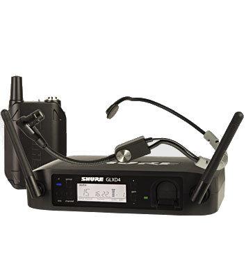 Shure GLXD14/SM35 Headworn Wireless System with SM35 Headset Microphone GLXD14/SM35
